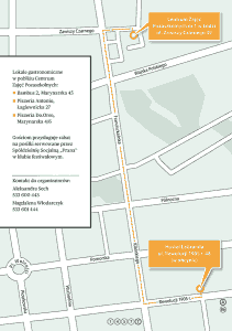 Festiwal Obywatela 2012 - mapa