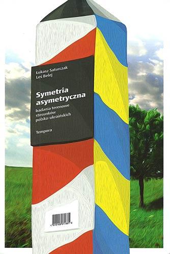 Symetria asymetryczna - okładka