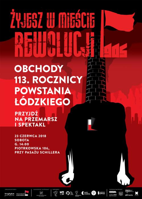 rewolucja 2018 plakat
